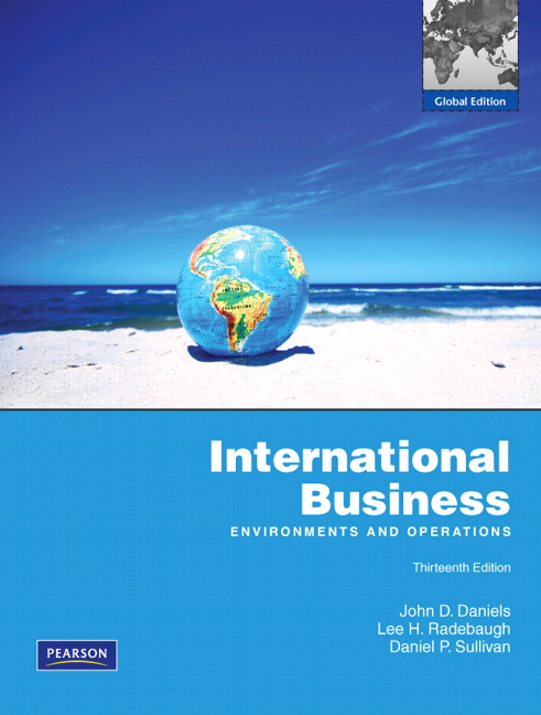 international business 13e daniels radebaugh sullivan