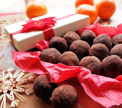 Chocolate Orange Cake Truffles