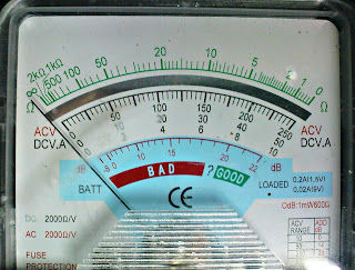 βολτόμετρο βελόνας