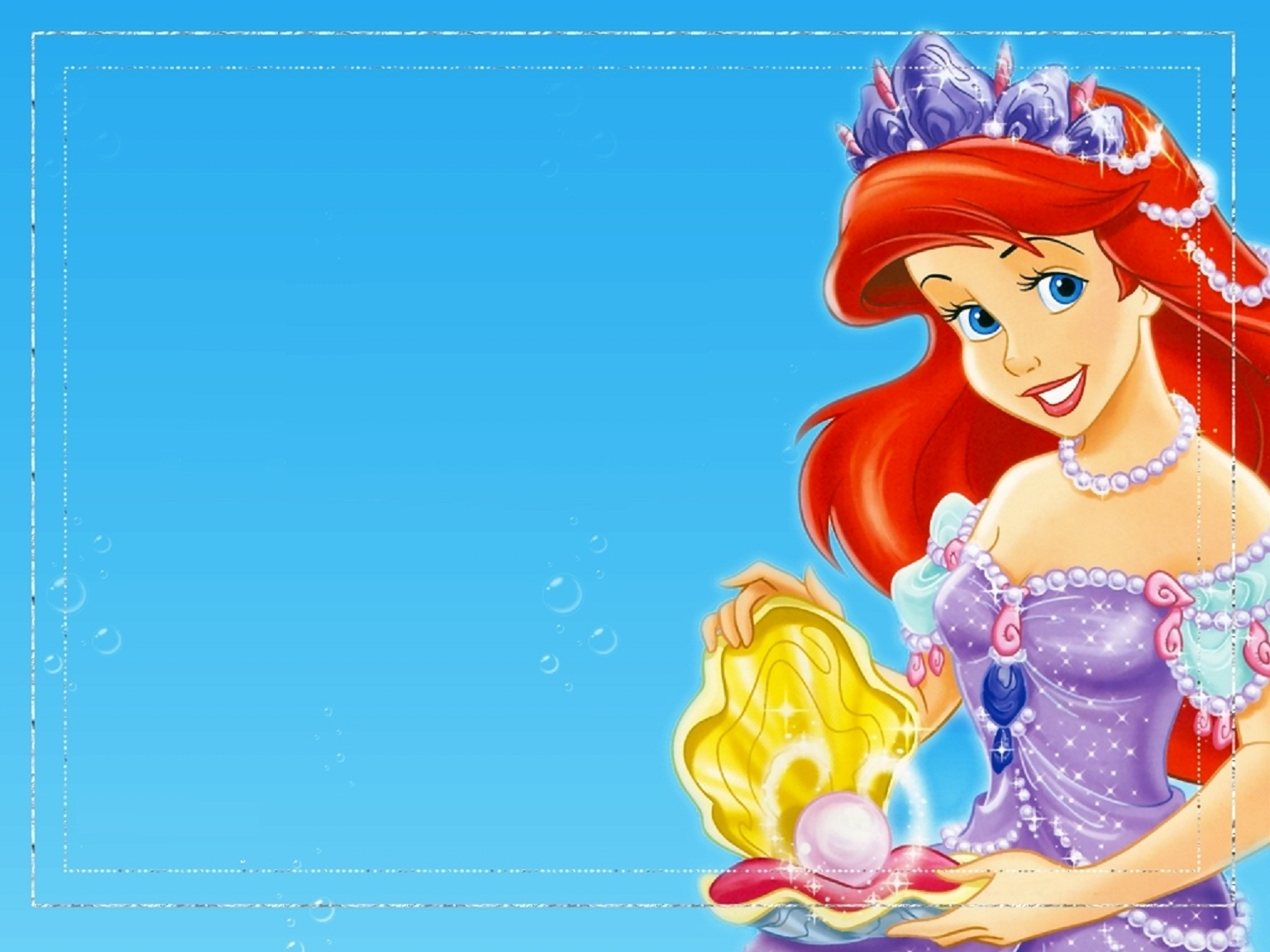 Disney HD Wallpapers: Walt Disney Princess Ariel HD Wallpapers