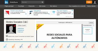 Ejercicio del Curso10.3 Creatu cuenta en SlideShare