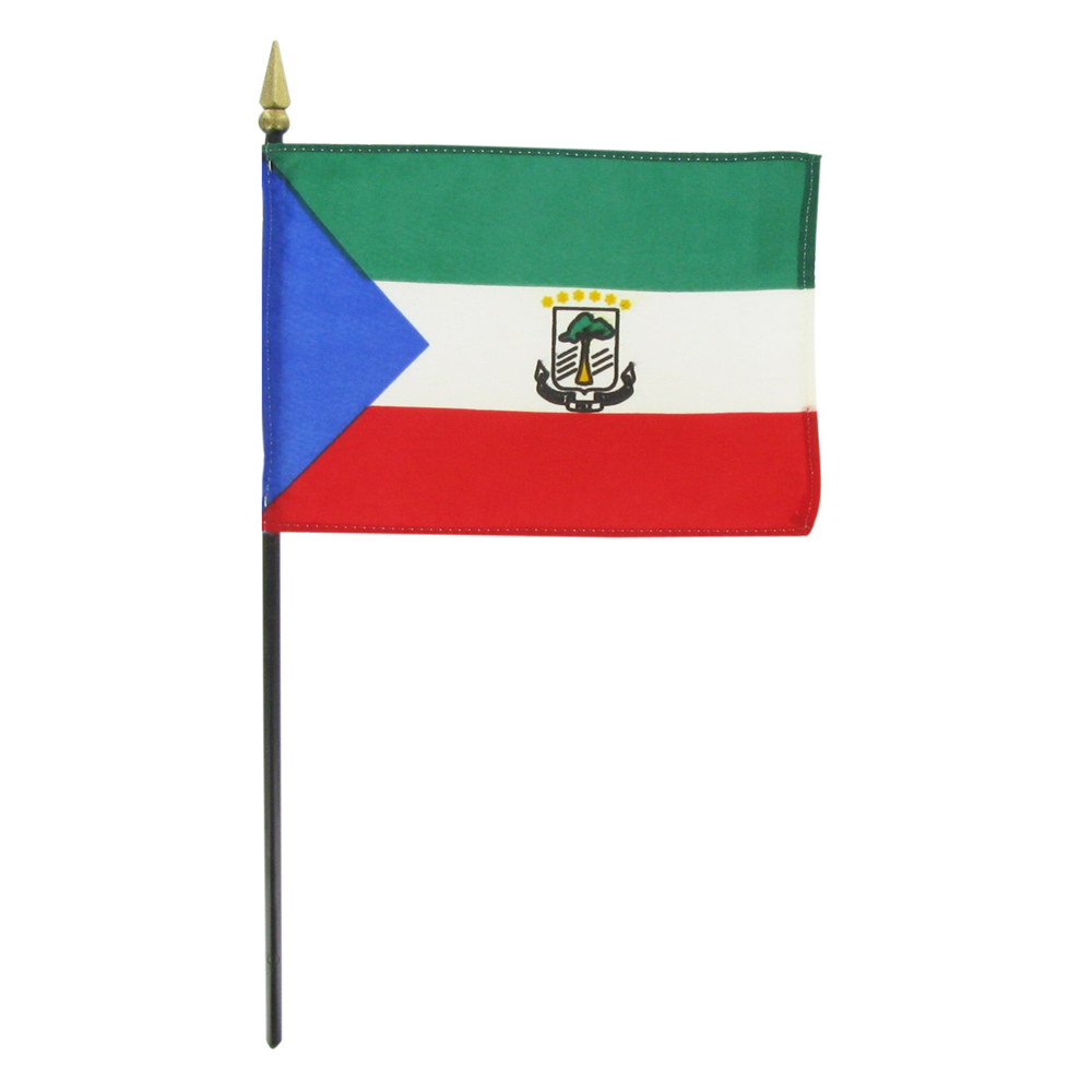 Graafix flag of equatorial guinea for The flag is