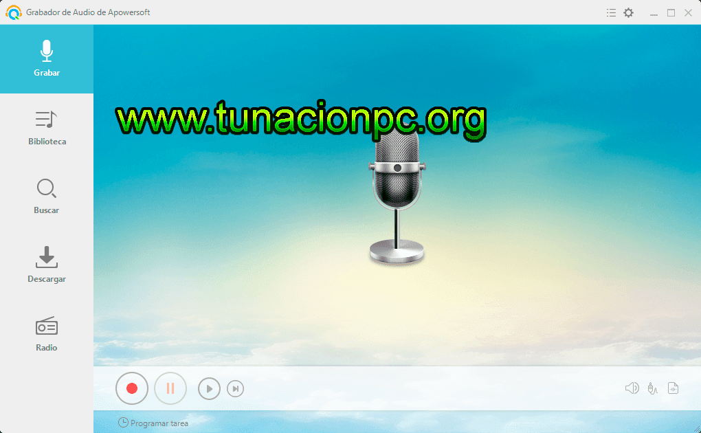 Apowersoft Streaming Audio Recorder Final Imagen