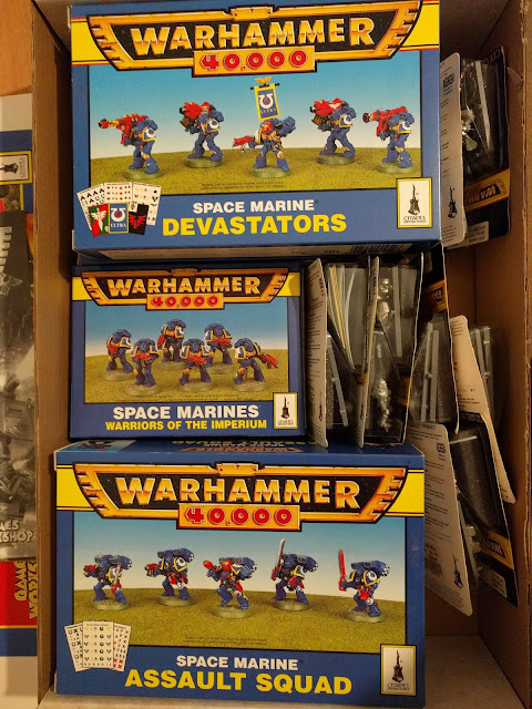 Space Marine Ultramarines Army Box 2000pts 2nd Edition Assault Squad