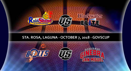 List of PBA Game(s): October 7 in Sta. Rosa, Laguna 2018 PBA Governors' Cup