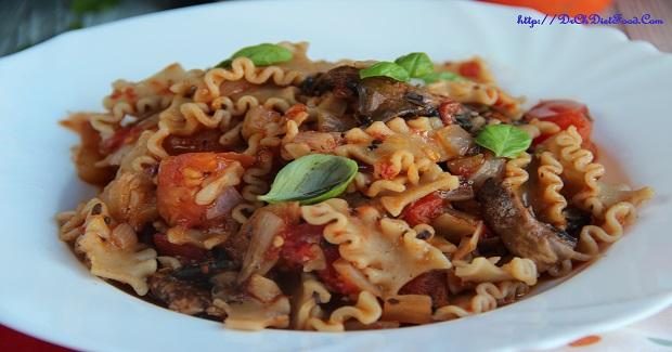 Tomato Mushroom Pasta Recipe