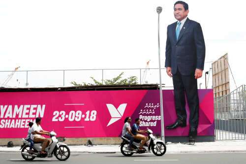 Maldivies' opposition party raises alarm over fair conduct of presidential poll