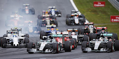 Jadwal Lengkap Siaran Langsung Formula 1 2016 (F1)