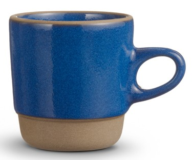 stacking mug - blue