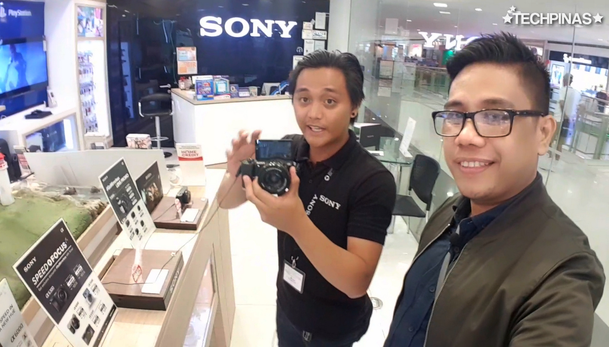 SM City Sucat, SM Cyberzone, Sony A5100 Philippines