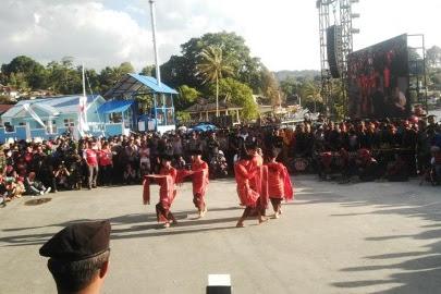 Karnaval Kemerdekaan Pesona Danau Toba Resmi di Buka