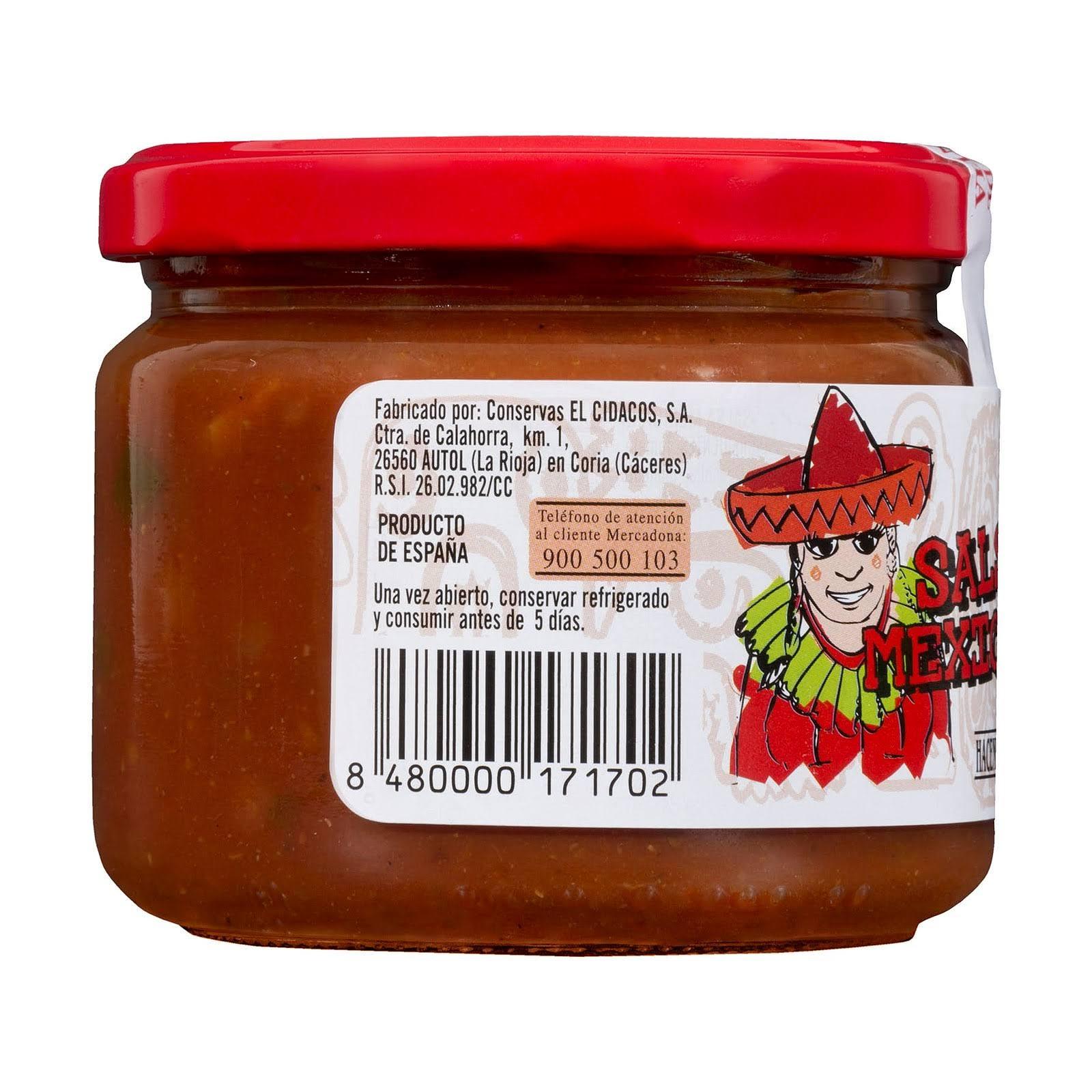 Salsa mexicana para dipear Hacendado