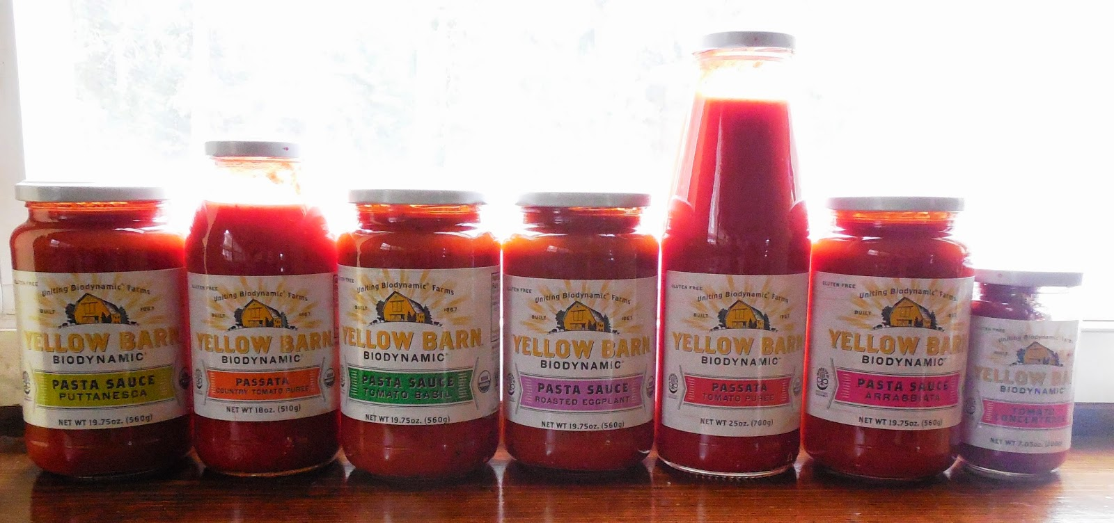 Yellow Barn Biodynamic Pasta Sauce