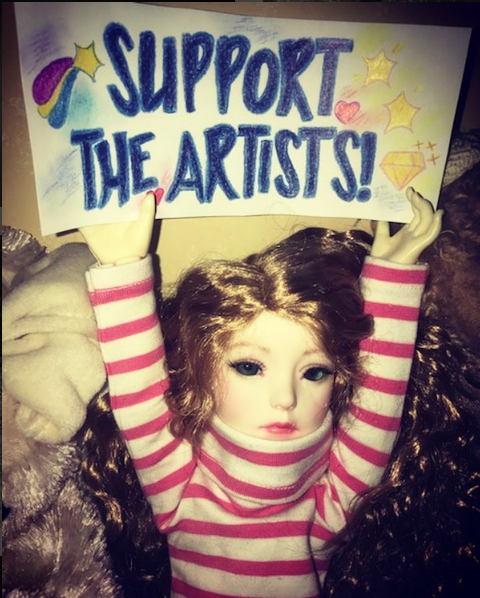 Support the Artists!