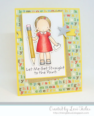 Let Me Get Straight to the Point card-designed by Lori Tecler/Inking Aloud-stamps and dies from My Favorite Things
