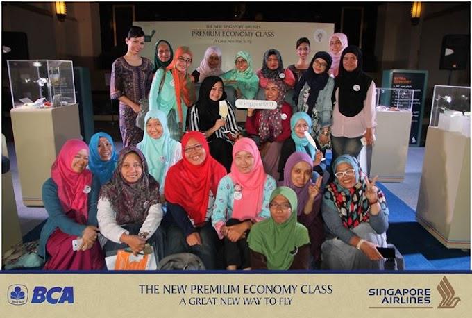Nikmati Terbang Nyaman Bersama Premium Economy Class Singapore Airlines