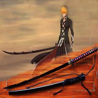 Pedang Samurai Katana Ichigo Bankai Kurosaki