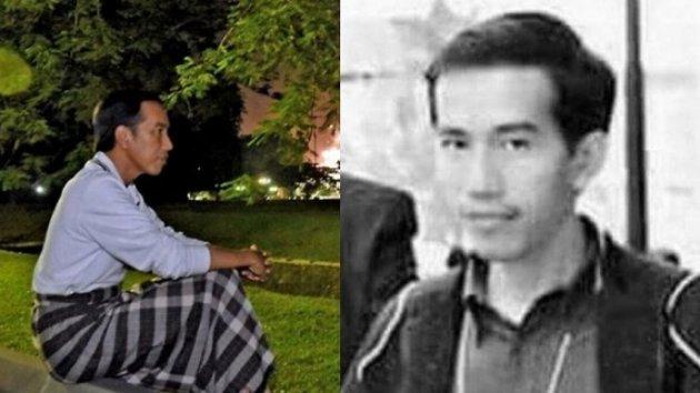 Foto Jokowi Waktu Muda Ini Jadi Viral di Instagram, Netizen Malah Bilang Seperti Ini