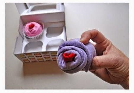 Cara Membuat Kerajinan Tangan Unik, Cupcake Bunga 5