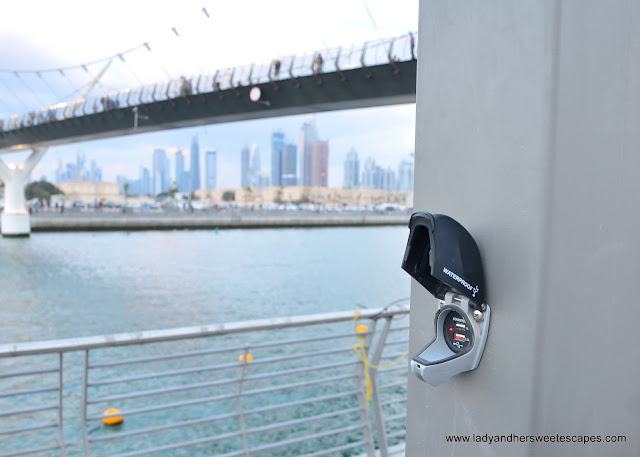 charging station in Dubai Water Canal