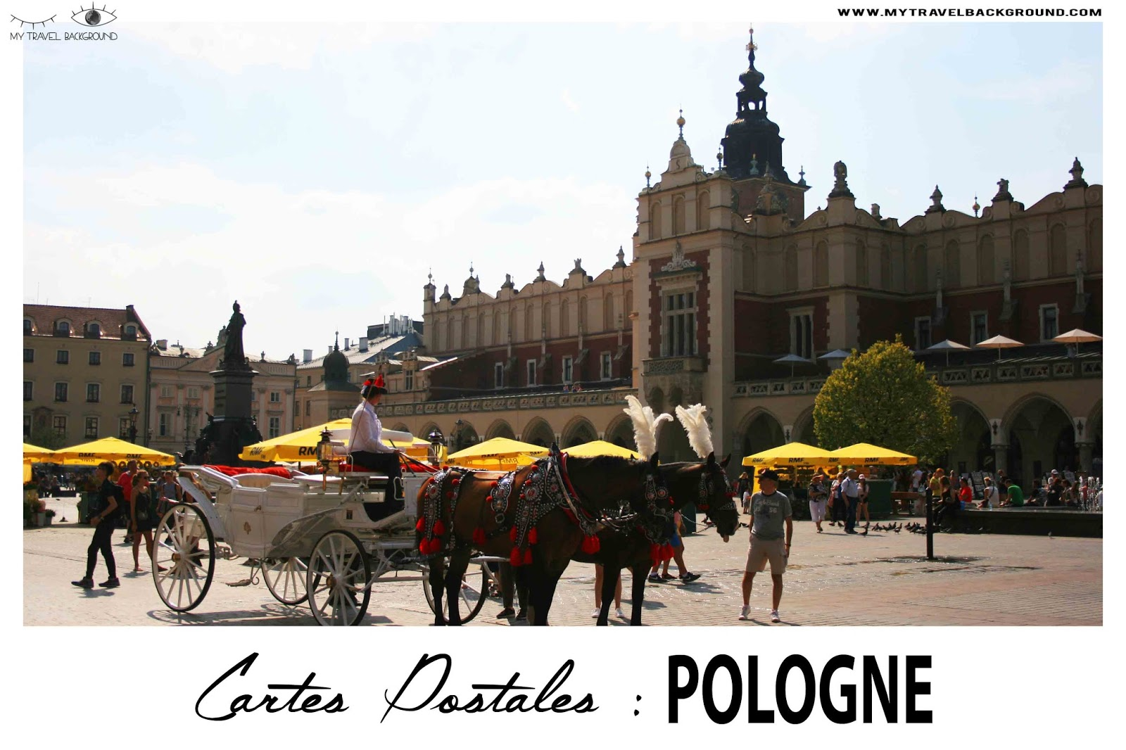 My Travel Background : cartes postales de Pologne