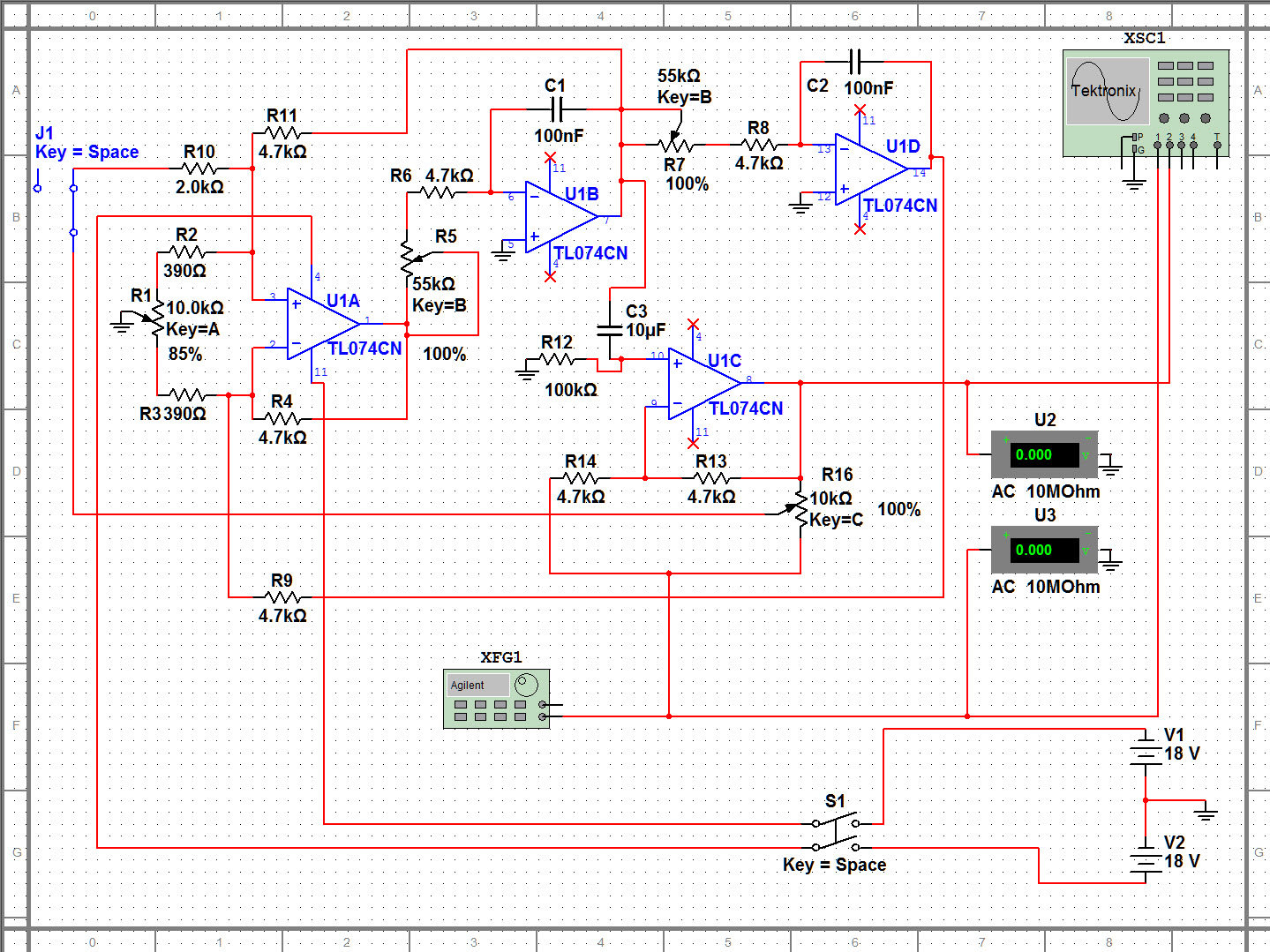 Custom Pcb For Diy Electronics Simulation And Software Analysis Of Simple Circuit Project Urei 546