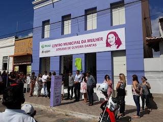 """Prefeitura de Picuí entrega a comunidade o Centro Municipal da Mulher """"Adriana de Oliveira Dantas"""""""