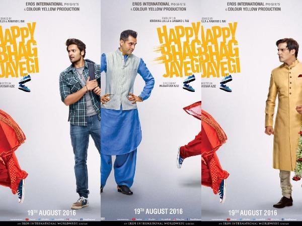 Happy Bhag Jayegi, Happy Bhag Jayegi Poster
