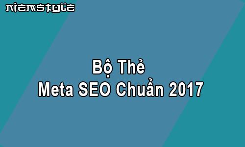 Thẻ meta SEO kết hợp tăng tốc đầy đủ nhất cho blogspot/blogger