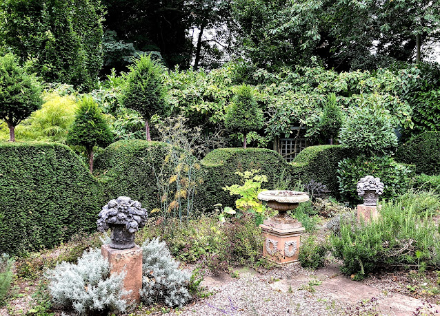 Jardín de herbáceas