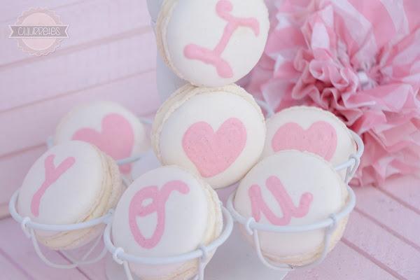 Receta del día: macarons I Love You