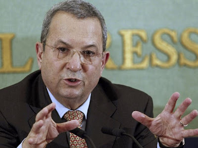 Político israelí Ehud Barak