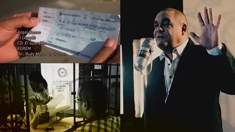 Ángel Bonne - ¨El cheque¨ - Videoclip - Dirección: Rudy Mora - Orlando Cruzata. Portal Del Vídeo Clip Cubano