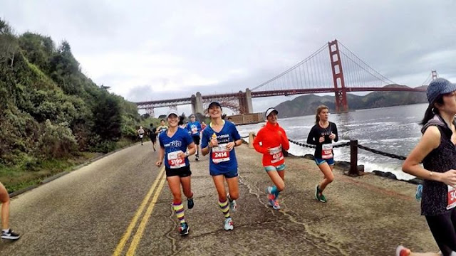 Awesome RnRSF shot with Golden Gate Bridge in background