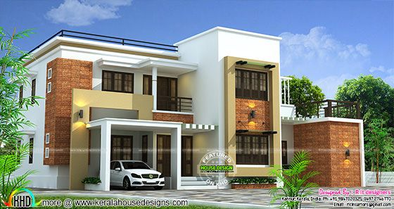 2660 sq-ft 4 bedroom modern home