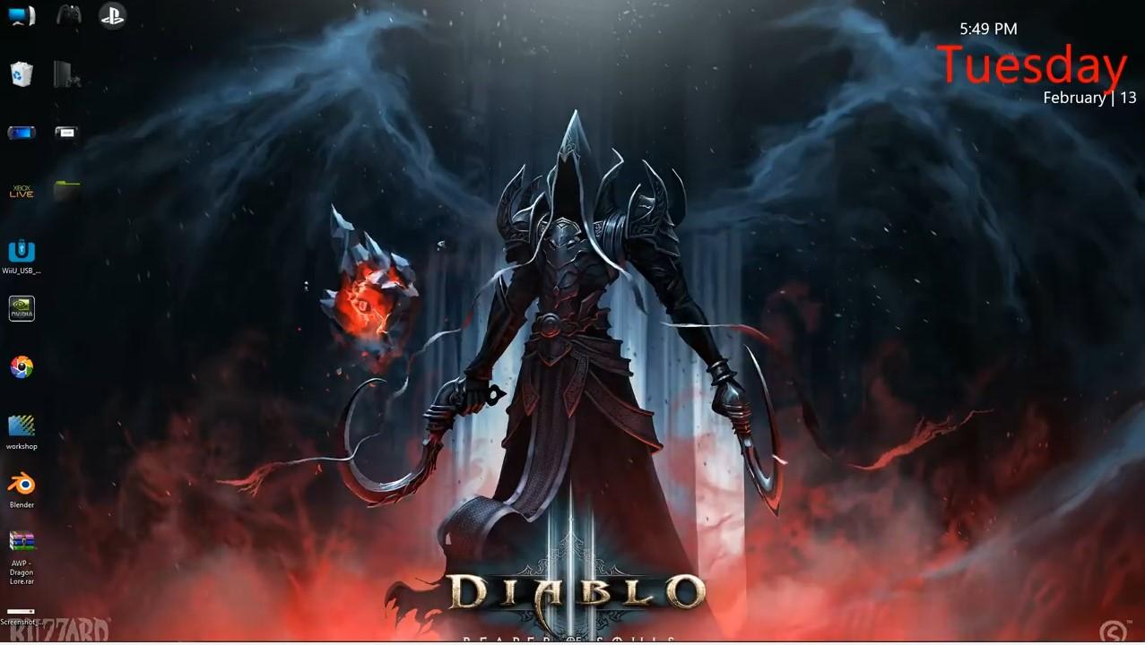 Anime 4k Wallpaper: Wallpaper Engine Diablo 3 Animated Wallpaper 4k Free