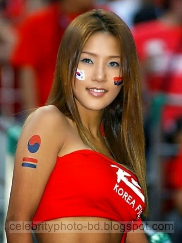 Honduras And Korea's Sexy And Hot Fans Photos In World Cup 2014