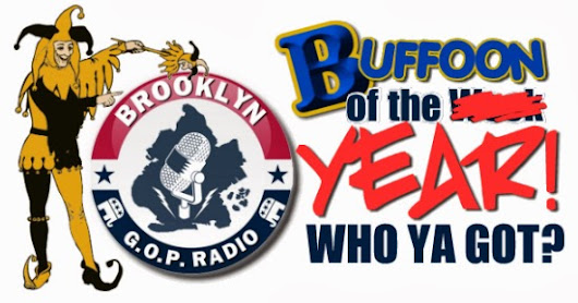 WHO YA GOT! Buffoon of the Year 2013 Begins December 1!
