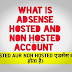 WHAT IS HOSTED NONHOSTED ADSENSE