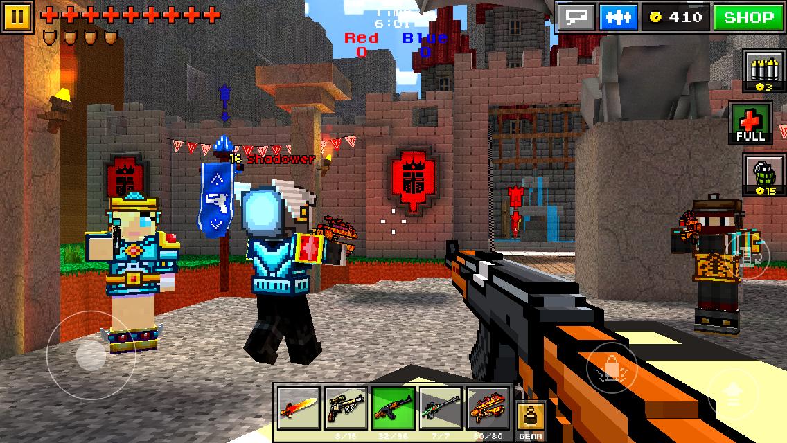 Pixel Gun 3D (Pocket Edition) V10.4.0 Mod Apk + Data