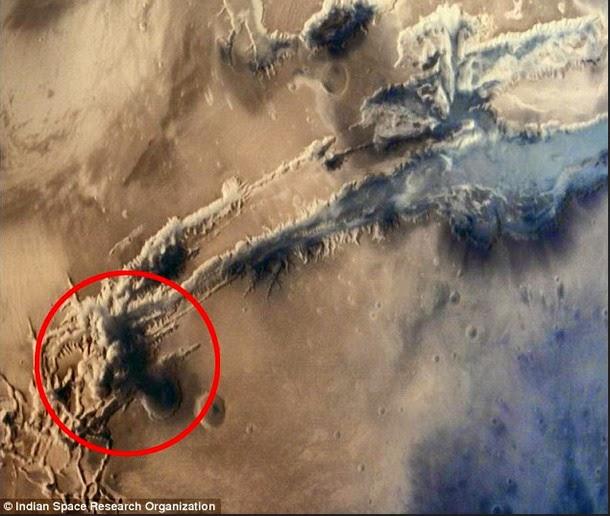 """hongo marte2 - Existe """"evidencia"""" de que una civilización pudo haber sido borrada de la superficie marciana?"""