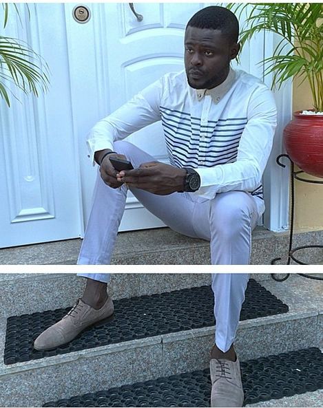 Entertainment Men Style Fashion Icon Yomi Casual Steps Out In