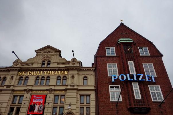 Davidwache, Polizei, St. Pauli, Kiez, Hamburg, Theater