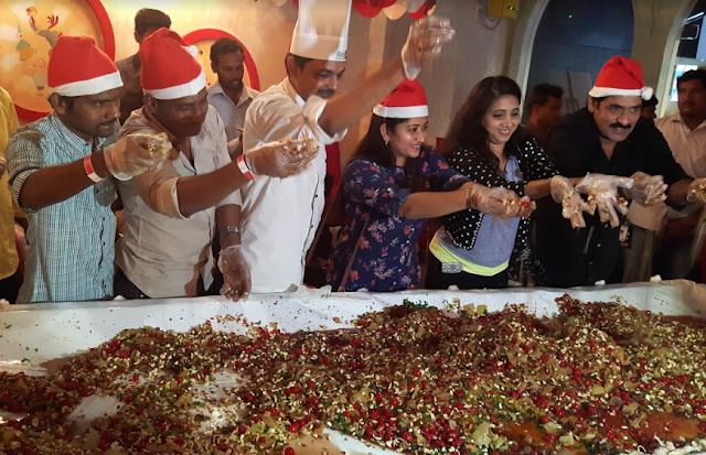 SMAAASH hosts the 'Cake Mixing Ceremony' to mark the festival season