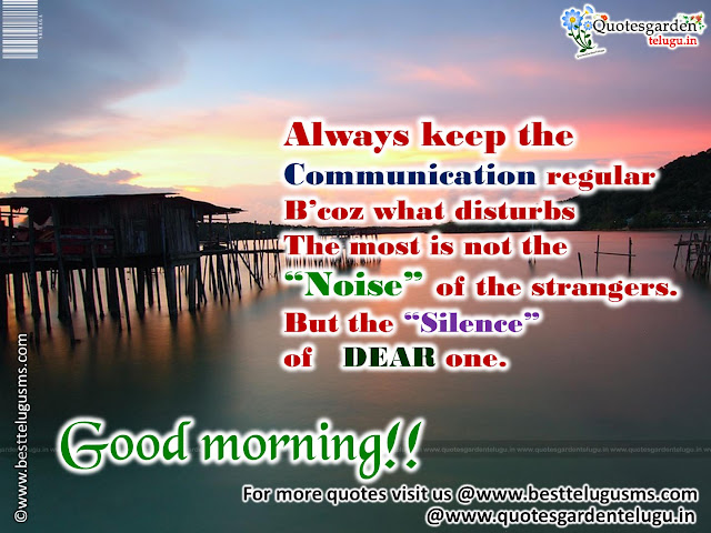 Nice Good morning Thoughts quotes