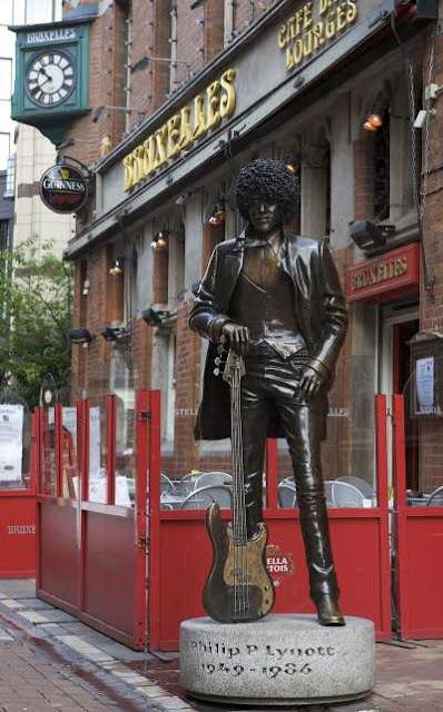 άγαλμα Phil Lynott