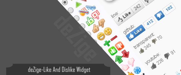 Like And Dislike Widget