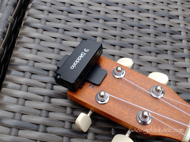 D'Addario Chromatic Headstock Tuner
