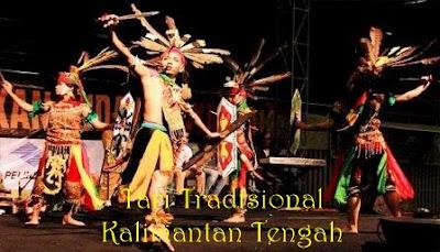 tari tradisional kalimantan tengah