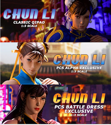 Chun-Li in cala 1 a 3 della Pop Culture Shock